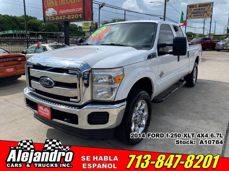 2014 Ford F-250 Super Duty for sale at Alejandro Cars & Trucks Inc in Houston TX