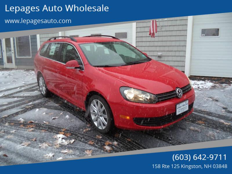 2012 Volkswagen Jetta for sale in Kingston, NH