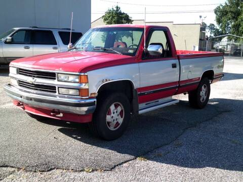 1994 Chevrolet C/K 1500 Series for sale at Wamsley's Auto Sales in Colonial Heights VA