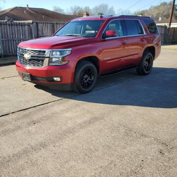 2015 Chevrolet Tahoe for sale at MOTORSPORTS IMPORTS in Houston TX