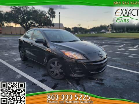 2011 Mazda MAZDA3 for sale at Exxact Cars in Lakeland FL