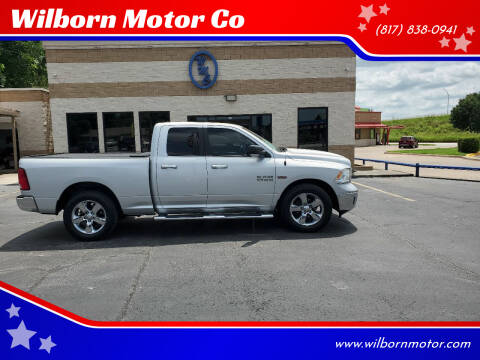 2016 RAM Ram Pickup 1500 for sale at Wilborn Motor Co in Fort Worth TX