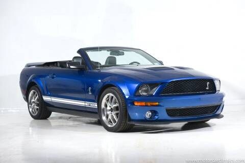 2007 Ford Shelby GT500 for sale at Motorcar Classics in Farmingdale NY