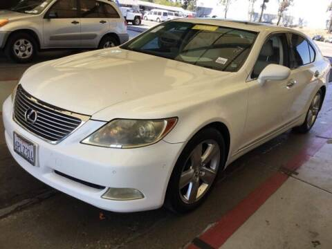 2008 Lexus LS 460 for sale at SoCal Auto Auction in Ontario CA