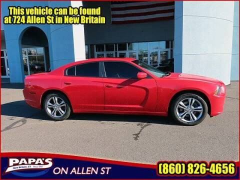 2013 Dodge Charger for sale at Papas Chrysler Dodge Jeep Ram in New Britain CT