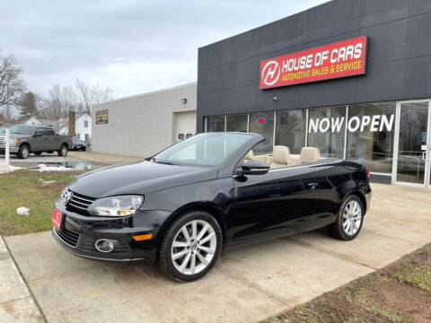 2013 Volkswagen Eos for sale at HOUSE OF CARS CT in Meriden CT