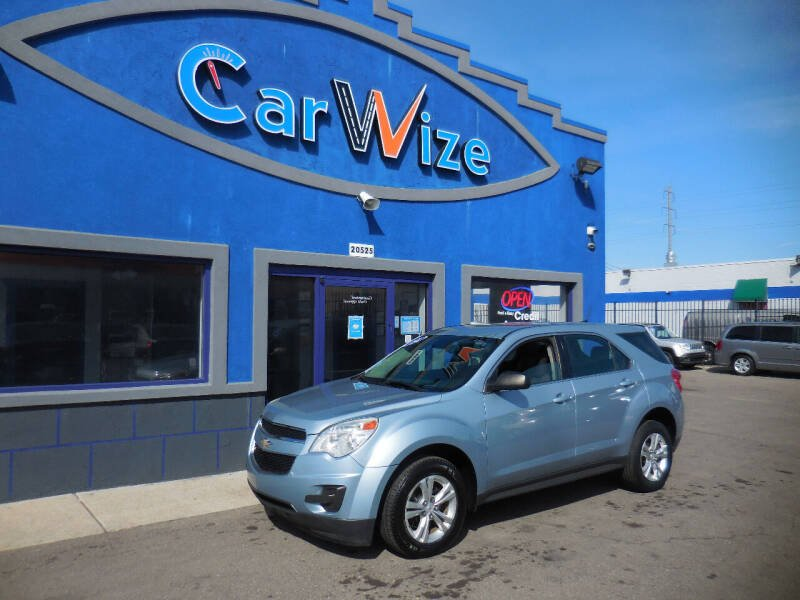2014 Chevrolet Equinox for sale at Carwize in Detroit MI