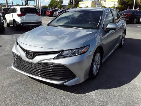 2019 Toyota Camry for sale at YOUR BEST DRIVE in Oakland Park FL