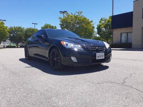 2012 Hyundai Genesis Coupe for sale at A&R MOTORS in Portsmouth VA