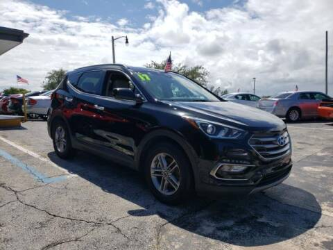2017 Hyundai Santa Fe Sport for sale at Mike Auto Sales in West Palm Beach FL