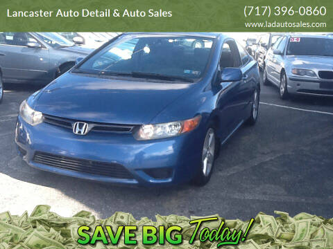 2006 Honda Civic for sale at Lancaster Auto Detail & Auto Sales in Lancaster PA