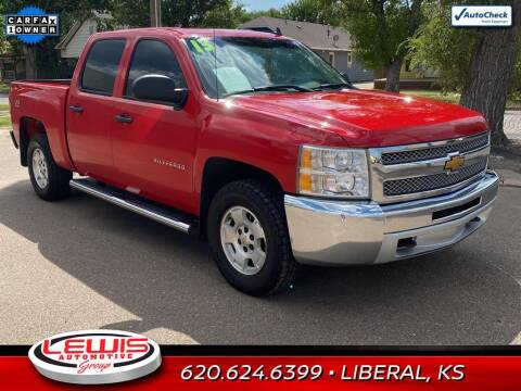 2013 Chevrolet Silverado 1500 for sale at Lewis Chevrolet Buick of Liberal in Liberal KS
