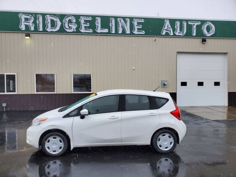 2015 Nissan Versa Note for sale at RIDGELINE AUTO in Chubbuck ID