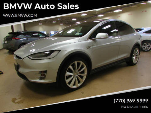 2016 Tesla Model X for sale at BMVW Auto Sales - Electric Vehicles in Union City GA