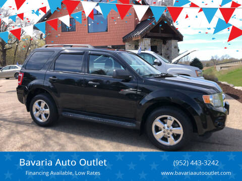 2011 Ford Escape for sale at Bavaria Auto Outlet in Victoria MN