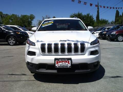 2015 Jeep Cherokee for sale at Empire Auto Sales in Modesto CA