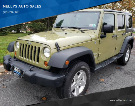 2013 Jeep Wrangler Unlimited for sale at NELLYS AUTO SALES in Souderton PA