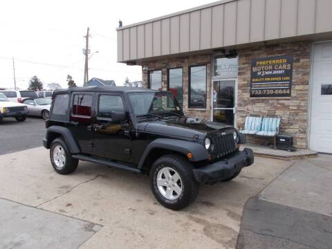 2011 Jeep Wrangler Unlimited for sale at Preferred Motor Cars of New Jersey in Keyport NJ