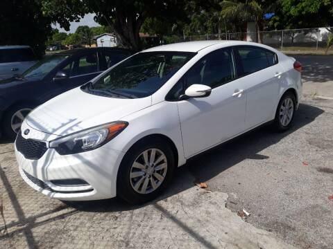 2014 Kia Forte for sale at LAND & SEA BROKERS INC in Deerfield FL