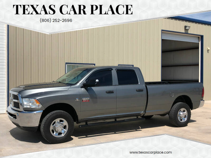 2012 RAM Ram Pickup 2500 for sale at TEXAS CAR PLACE in Lubbock TX