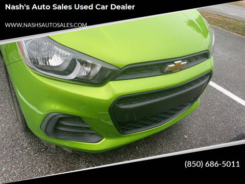 2016 Chevrolet Spark for sale at Nash's Auto Sales Used Car Dealer in Milton FL