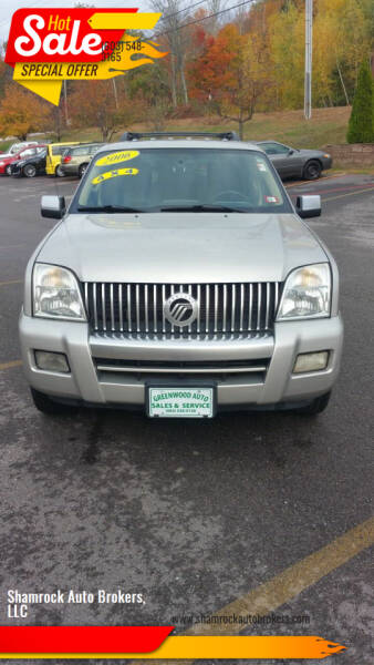 2006 Mercury Mountaineer for sale at Shamrock Auto Brokers, LLC in Belmont NH