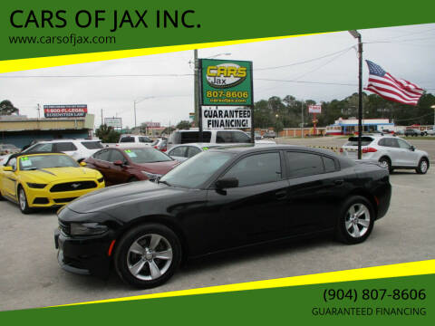 2015 Dodge Charger for sale at CARS OF JAX INC. in Jacksonville FL
