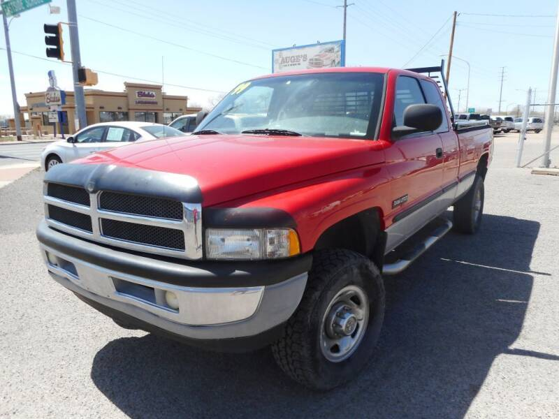 1999 Dodge Ram Pickup 2500 for sale at AUGE'S SALES AND SERVICE in Belen NM