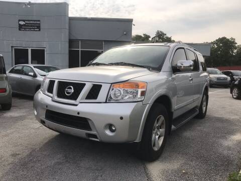 2010 Nissan Armada for sale at Popular Imports Auto Sales in Gainesville FL