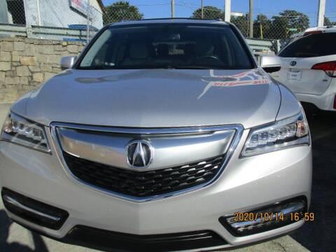 2014 Acura MDX for sale at Atlantic Motors in Chamblee GA