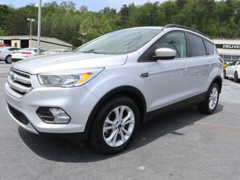 2018 Ford Escape for sale at RUSTY WALLACE KIA OF KNOXVILLE in Knoxville TN