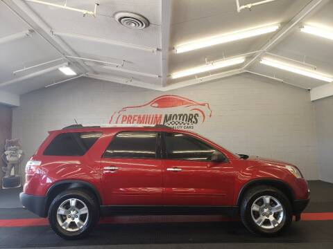 2012 GMC Acadia for sale at Premium Motors in Villa Park IL