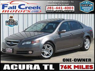 2008 Acura TL for sale at Fall Creek Motor Cars in Humble TX