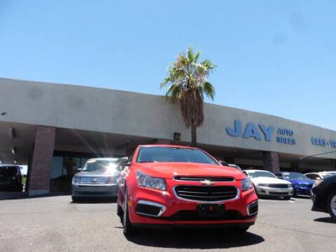 2015 Chevrolet Cruze for sale at Jay Auto Sales in Tucson AZ