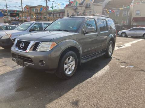 2009 Nissan Pathfinder for sale at 21st Ave Auto Sale in Paterson NJ