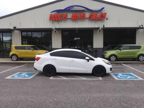 2015 Kia Rio for sale at DOUG'S AUTO SALES INC in Pleasant View TN