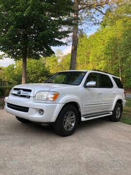 2007 Toyota Sequoia for sale at Judy's Cars in Lenoir NC