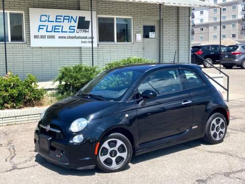 2015 FIAT 500e for sale at Clean Fuels Utah - SLC in Salt Lake City UT