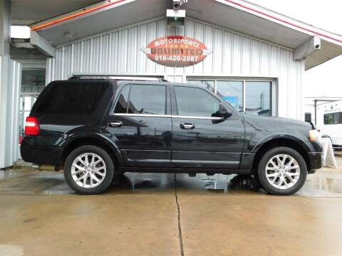 2015 Ford Expedition for sale at Motorsports Unlimited in McAlester OK