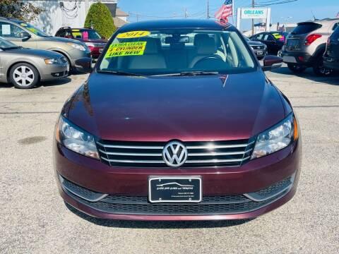 2014 Volkswagen Passat for sale at Cape Cod Cars & Trucks in Hyannis MA