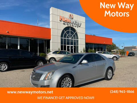 2010 Cadillac CTS for sale at New Way Motors in Ferndale MI