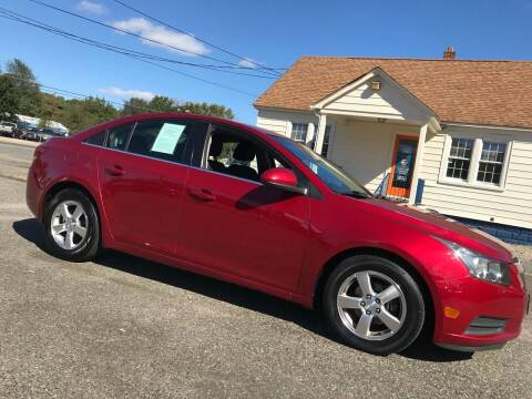 2012 Chevrolet Cruze for sale at New Wave Auto of Vineland in Vineland NJ