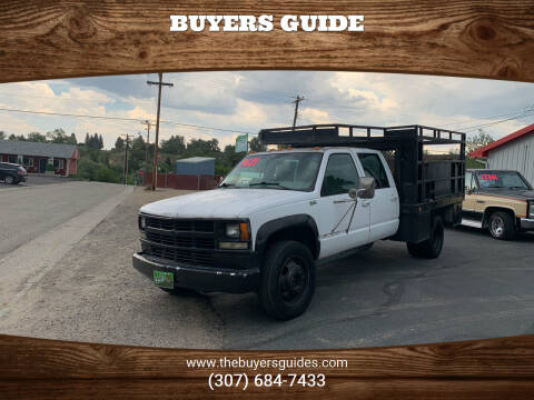 1995 Chevrolet C/K 3500 Series for sale at Buyers Guide in Buffalo WY