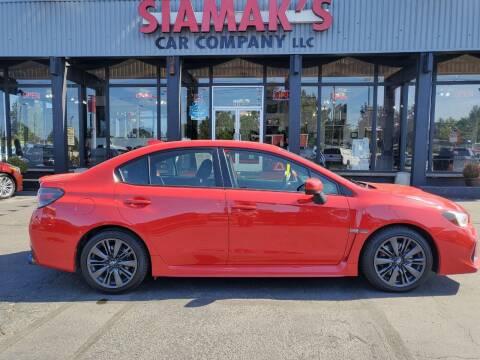 2018 Subaru WRX for sale at Siamak's Car Company llc in Salem OR