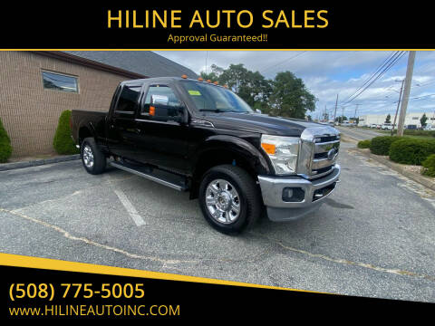 2013 Ford F-350 Super Duty for sale at HILINE AUTO SALES in Hyannis MA