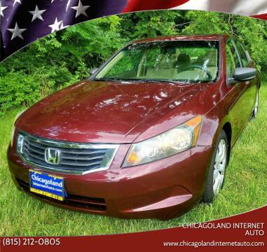 2010 Honda Accord for sale at Chicagoland Internet Auto - 410 N Vine St New Lenox IL, 60451 in New Lenox IL