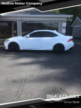 2017 Lexus IS 200t for sale at Nodine Motor Company in Inman SC
