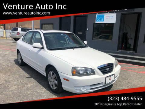 2005 Hyundai Elantra for sale at Venture Auto Inc in South Gate CA