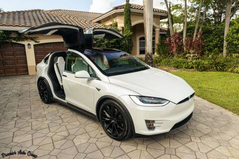 2019 Tesla Model X for sale at Premier Auto Group of South Florida in Wellington FL