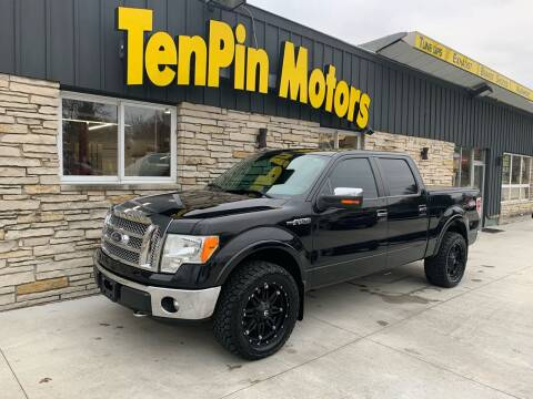 2011 Ford F-150 for sale at TenPin Motors LLC in Fort Atkinson WI
